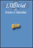 Couverture édition papier de l'Officiel des foires et marchés Bio